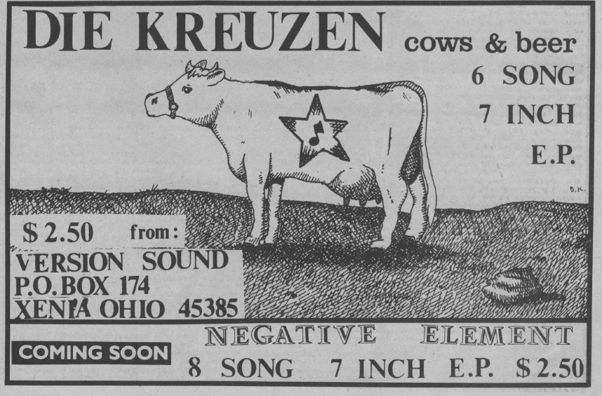 1982 Cows and Beer ad